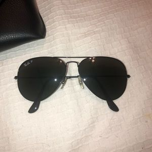 Black Ray Bans Aviators